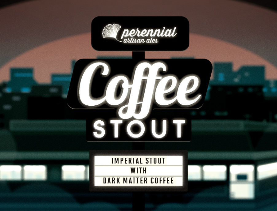 Perennial Coffee Stout with Dark Matter Coffee- Variant