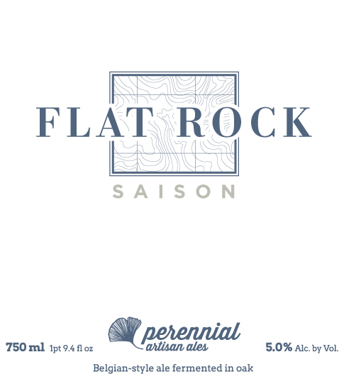 Flat Rock Saison (Bluestem)